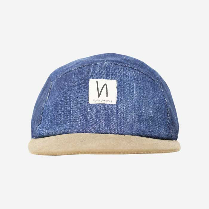 1644336b5 Nudie Jeans Larsson Denim Recycled Cap