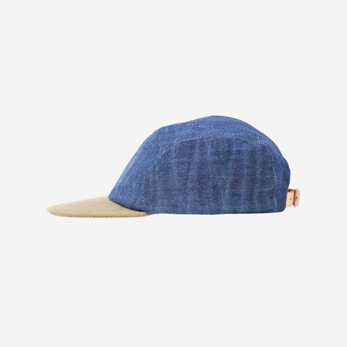 5be489c97 Nudie Jeans Larsson Denim Recycled Cap -