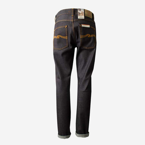 NUDIE JEANS Lean Dean Dry Japan Selvage