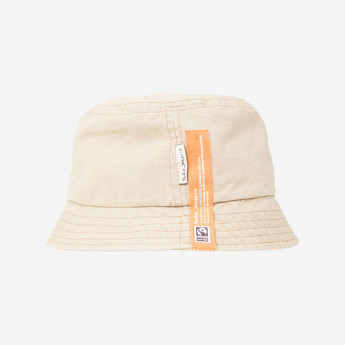NUDIE JEANS Mathsson Bucket Hat Beige