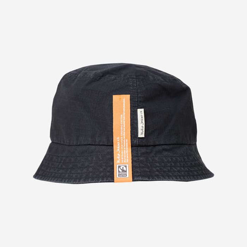 NUDIE JEANS Mathsson Bucket Hat Black