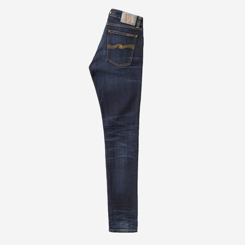 NUDIE JEANS Skinny Lin Dark Blue Authentic