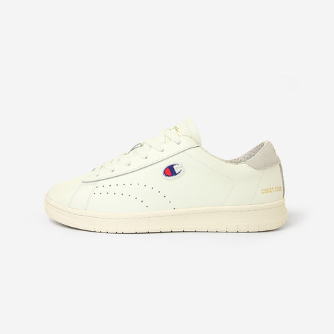 Champion Court Club Low Top Trainers White