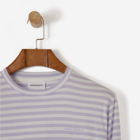 Norse Projects James Logo Stripe Heather