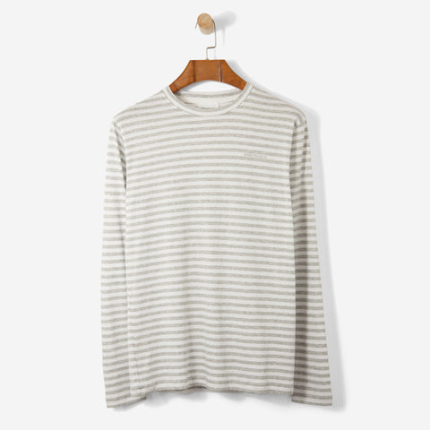 Norse Projects James Logo Stripe Light Grey