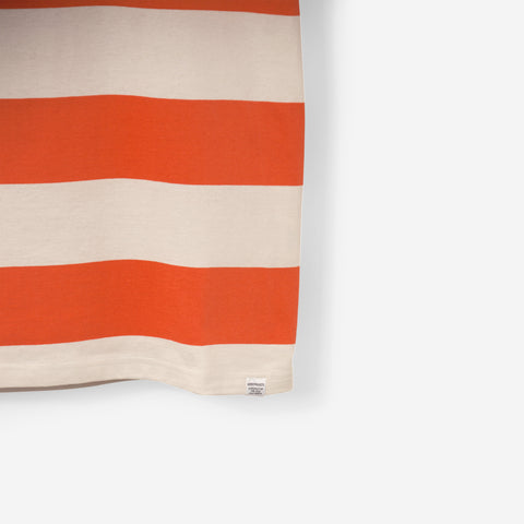 Norse Projects Johannes Wide Stripe Burner Red