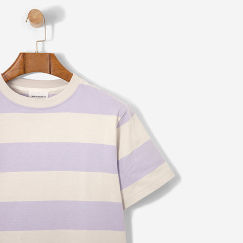 Norse Projects Johannes Wide Stripe Heather