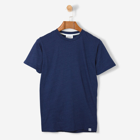 Norse Projects Niels Indigo T Shirt Indigo