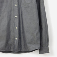 Norse Projects Anton Chambray Shirt Light Indigo