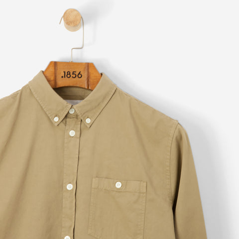 Norse Projects Anton Twill Shirt Khaki