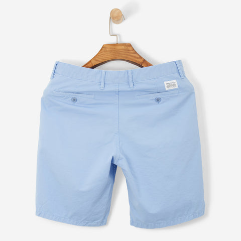 Norse Projects Aros Light Twill Shorts Luminous Blue