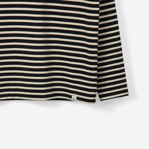 Norse Projects Godtfred Classic Compact Crewneck Navy Stripe