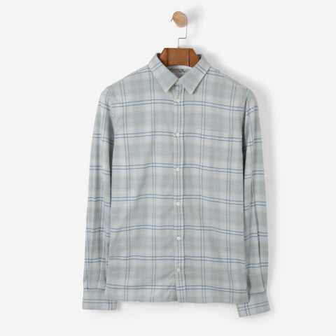 Norse Projects Hans Brushed Check Kit White