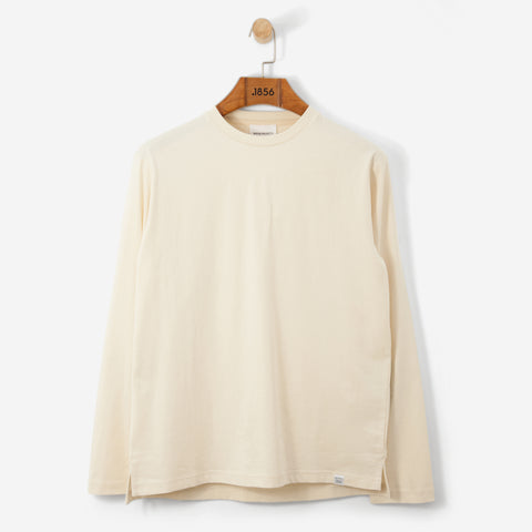 Norse Projects Johannes Light Organic L/S T Shirt Sand