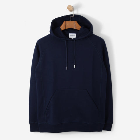 Norse Projects Ketel Dry Mercerized Hood Navy