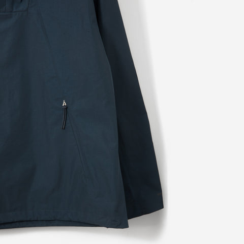Norse Projects Ribe Crisp Pull Over Jacket Aluminium Petrol