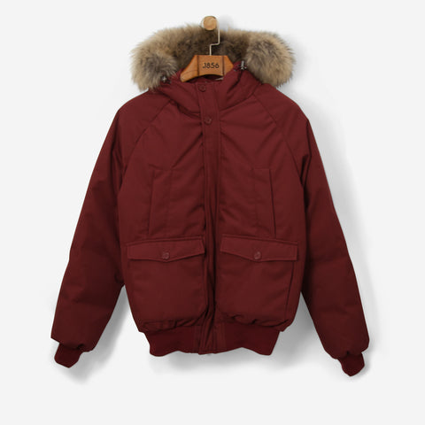 Pyrenex Mistral Jacket Fur Cherry