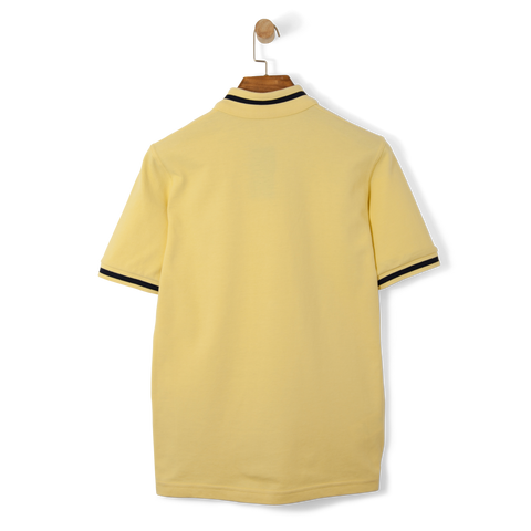 Fred Perry Reissues Single Tipped Polo Shirt Ice Lemon