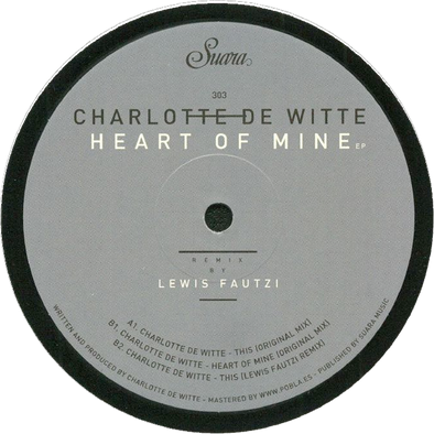 Charlotte De Witte - Heart Of Mine EP