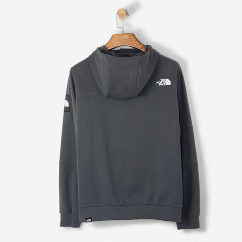 The North Face Black Label Full Zip Fine Hood Asphalt Grey