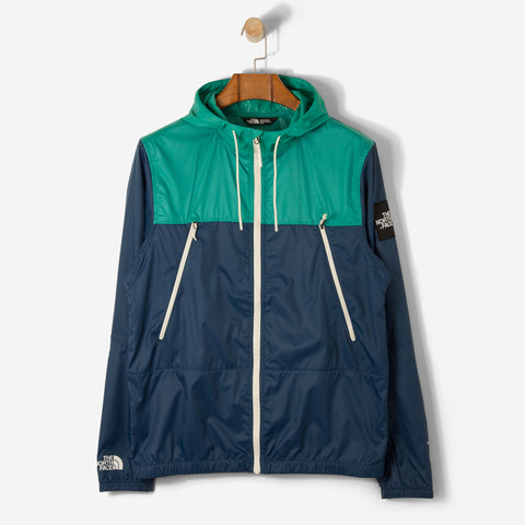 The North Face Black Label 1990 Seasonal Mountain Jacket Blue Wing Teal/ Porcelain Green