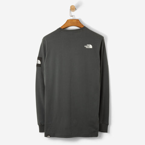 The North Face Black Label L/S Fine T Shirt Asphalt Grey