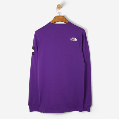 The North Face Black Label L/S Fine T Shirt Tillandsia Purple
