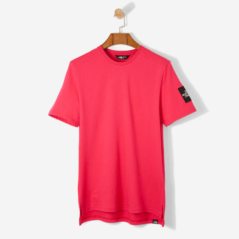 The North Face Black Label S/S Fine T Shirt Raspberry Red