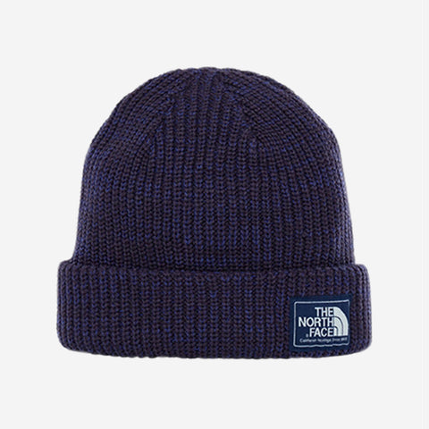 The North Face Salty Dog Beanie Purple & Navy