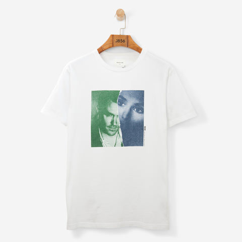 Wood Wood Moz/Sin T Shirt White