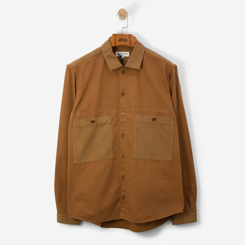 You Must Create Doc Savage Shirt Brown