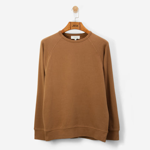 YMC Schrank Raglan Sweatshirt Brown