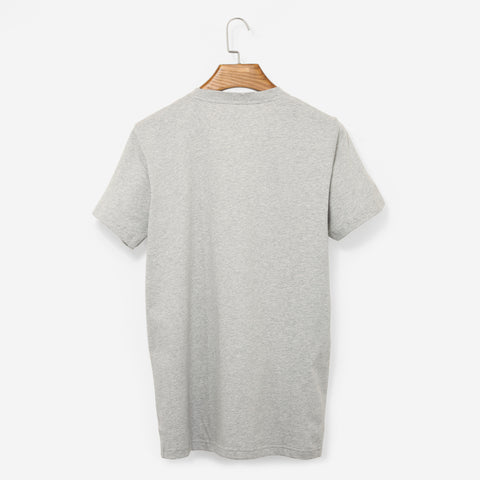 Norse Projects Niels Coordinates Logo Grey