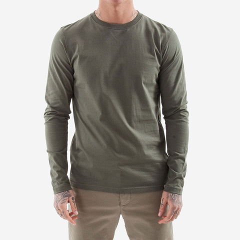 Norse Projects Niels Standard LS Tee Dried Olive