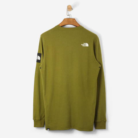 The North Face Black Label L/S Fine T Shirt Fir Green
