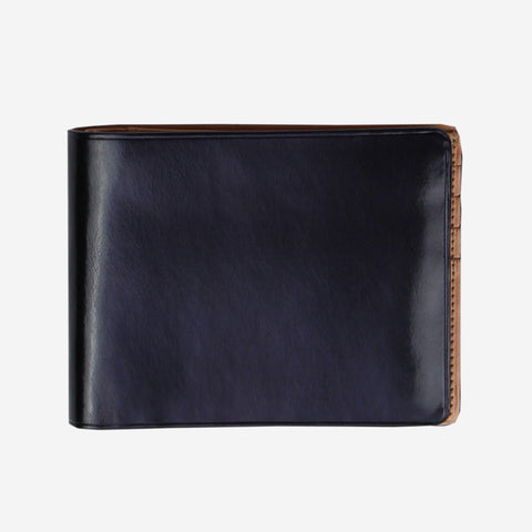 IL BUSSETTO Bi-Fold Wallet | Black