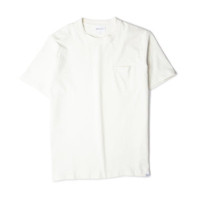 Norse Projects Johannes Pocket SS Tee Ecru