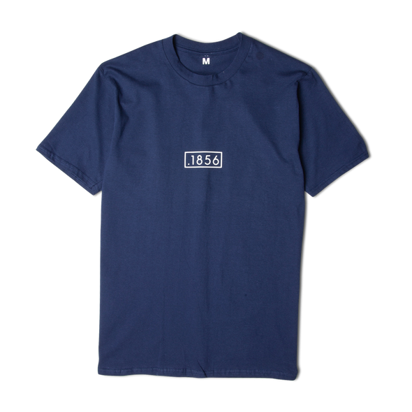 1856 Box Logo Tee Navy