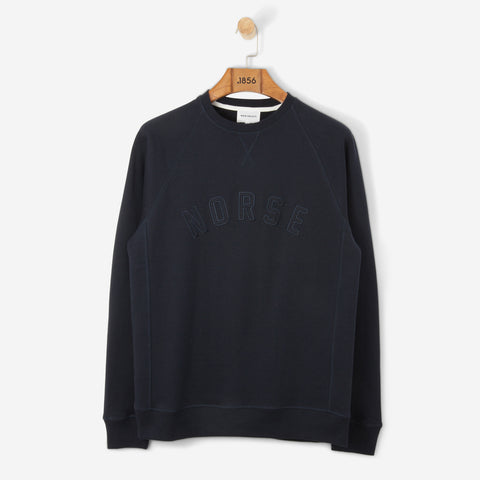 Norse Projetcts Ketel Classic Ivy Logo Dark Navy