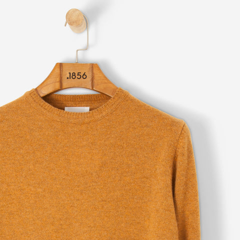 Norse Projects Sigfred Lambswool Knit Mustard Yellow