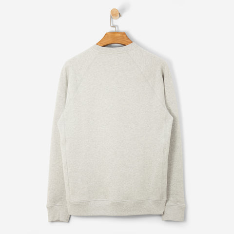 Norse Projetcts Ketel Classic Ivy Logo Light Grey Melange