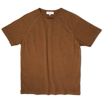 You Must Create TV Raglan Tee Brown