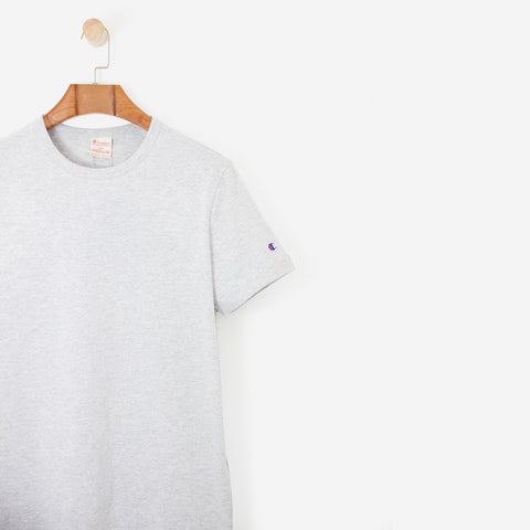 CHAMPION Crewneck T Shirt Grey
