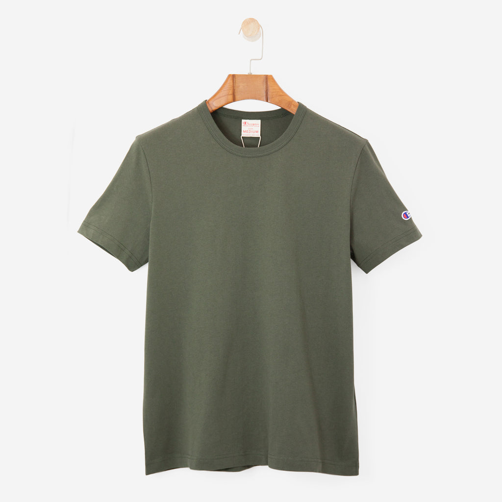 Champion Crewneck T-Shirt Green