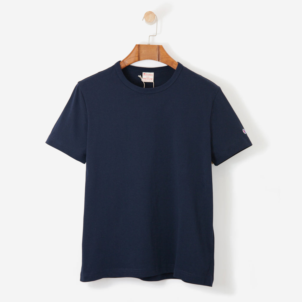 Champion Crewneck T-Shirt Navy