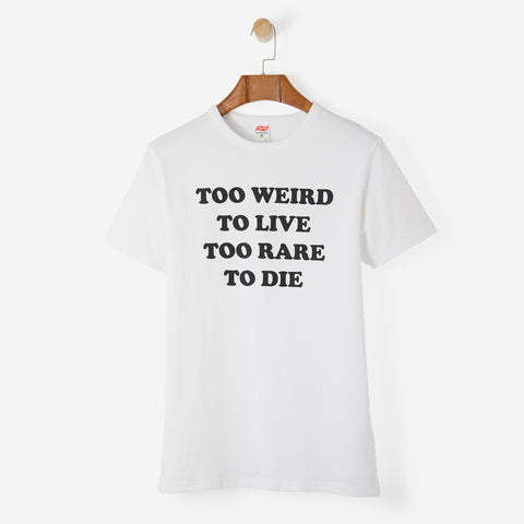TSPTR Too Weird T Shirt White