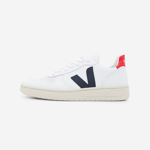 Veja V10 Leather Extra White Nautico Pekin