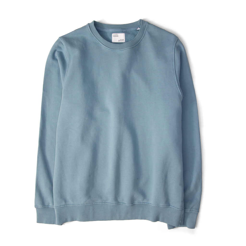 Colourful Standard Classic Organic Crew Sweatshirt Polar Blue