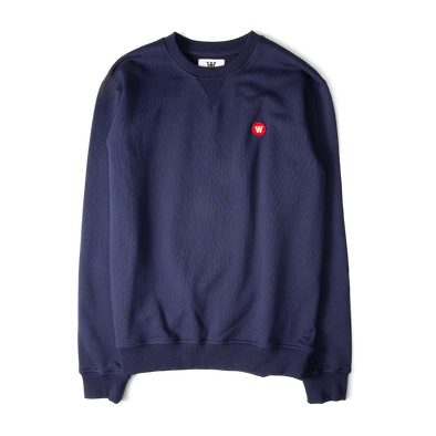 Wood Wood Tye Sweatshirt Navy