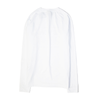 Champion X Wood Wood Long Sleeve Box Logo Tee White